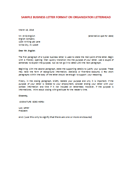 Sample Of Buisness Letter from news.shaneperrymarketing.com