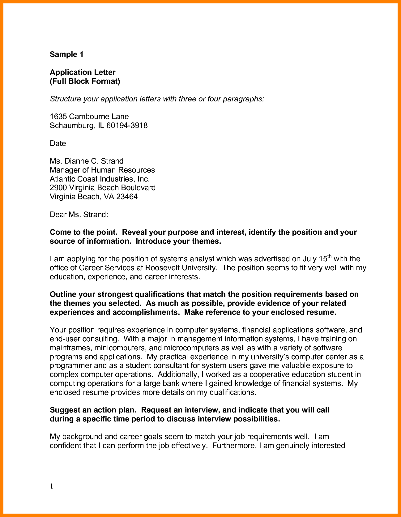 Apa Business Letter Format from news.shaneperrymarketing.com
